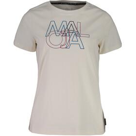 Maloja DuriettaM. T-Shirt Damer, vintage white